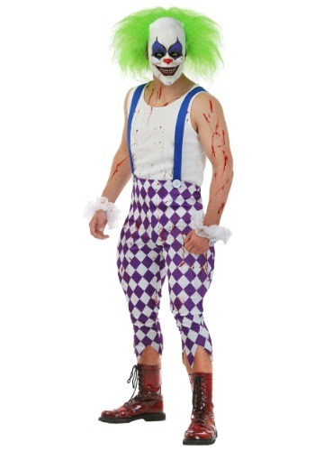 Click Here to buy Mens Nightmare Clown Costume from HalloweenCostumes, USA Funds & Shipping