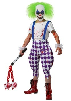 clown costumes adult kids clown halloween costume
