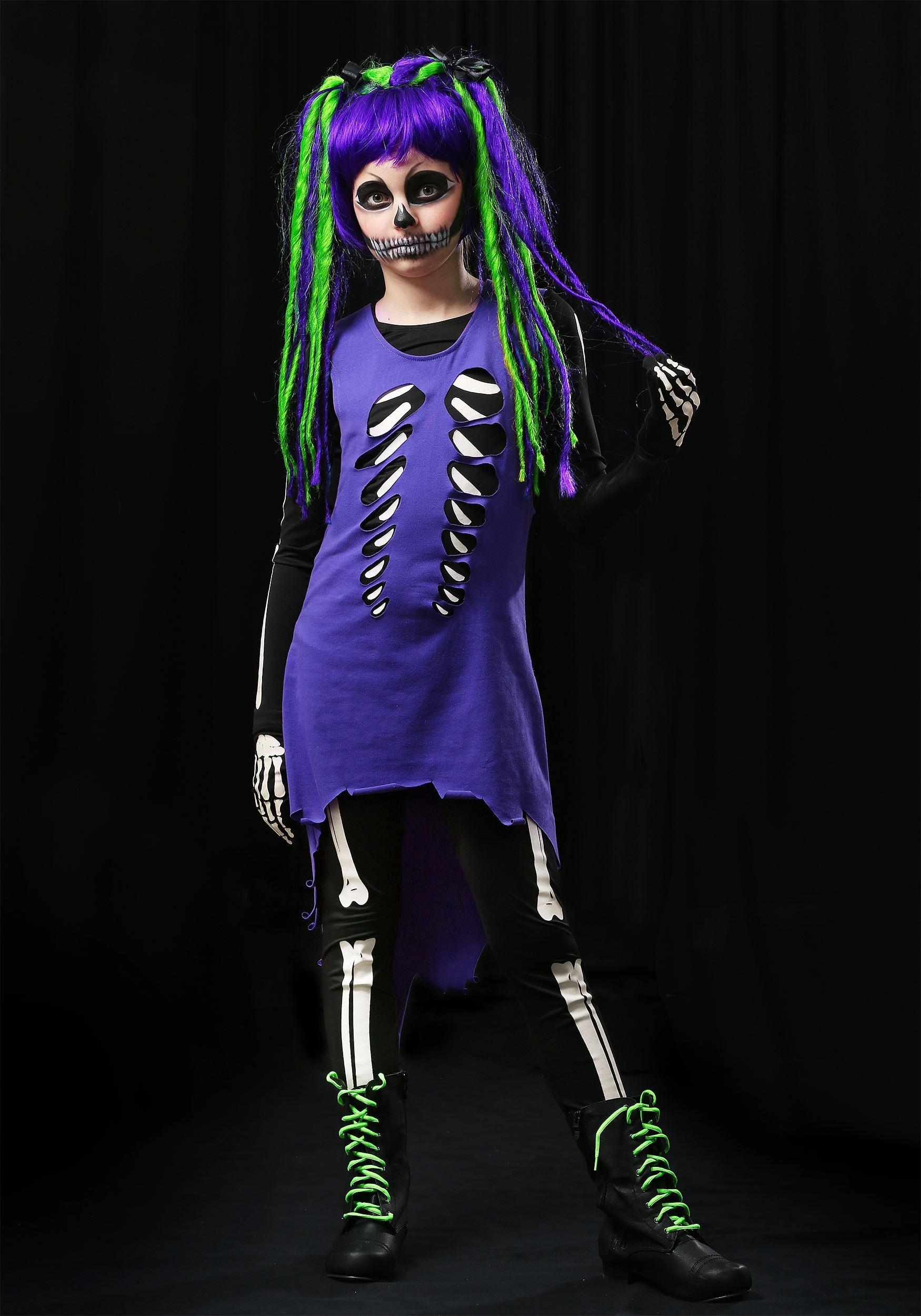 Halloween costume teen skeleton dildo fucking machine - 3 3