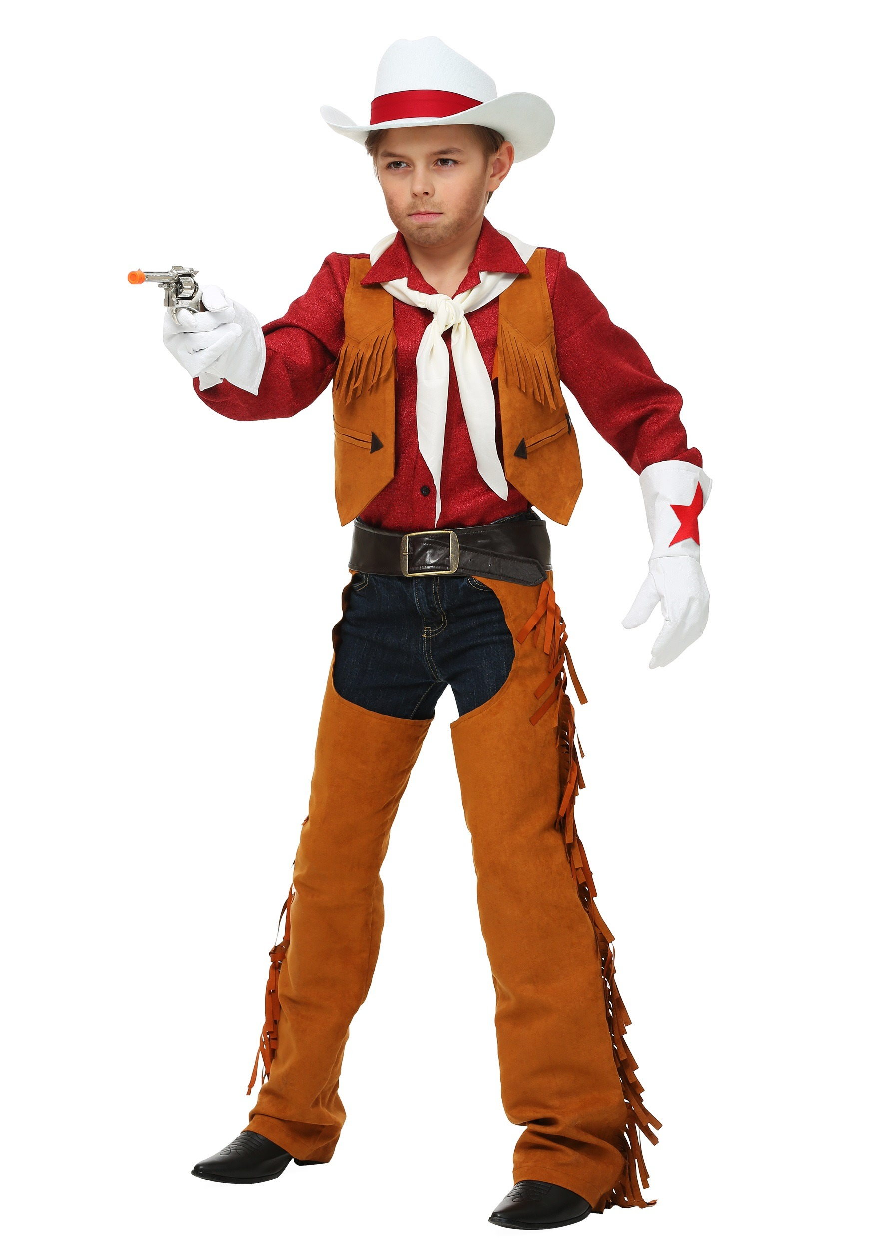 sc 1 st  Halloween Costumes & Child Rodeo Cowboy Costume