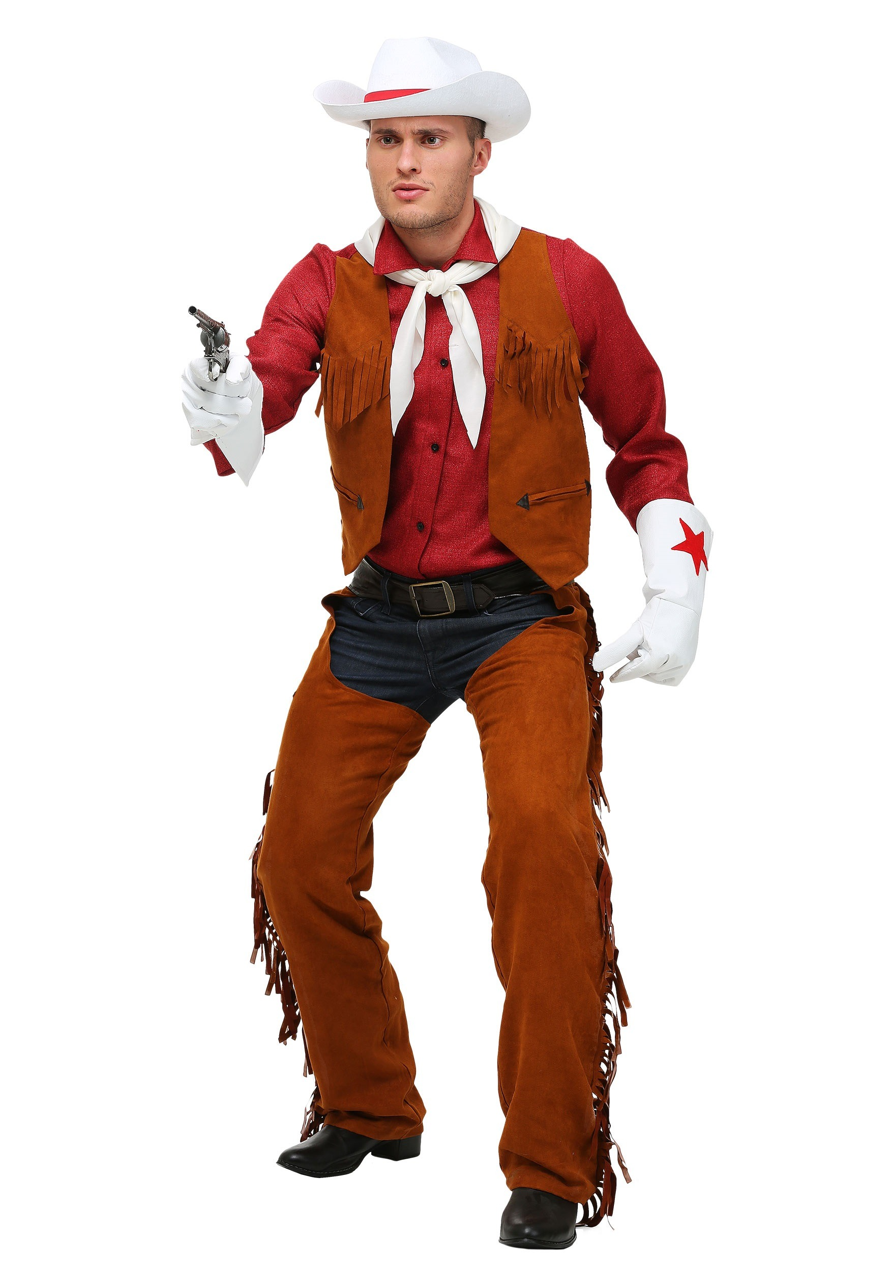 adult cowboy halloween costumes