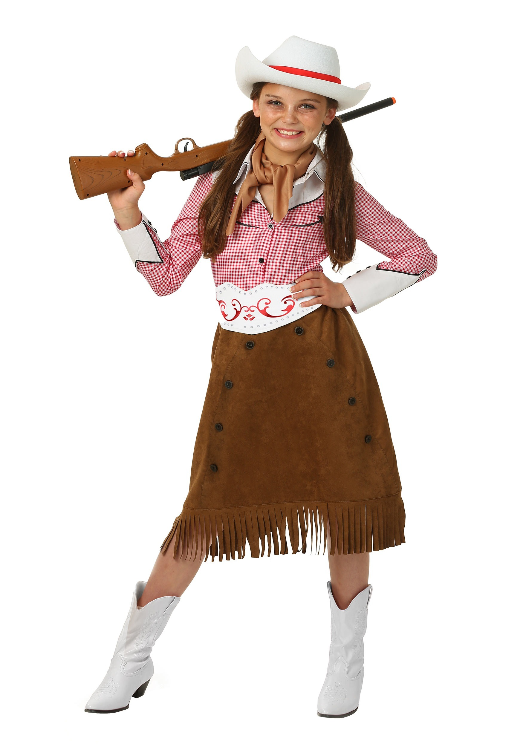 Adult western style costumes extra large sizes girl