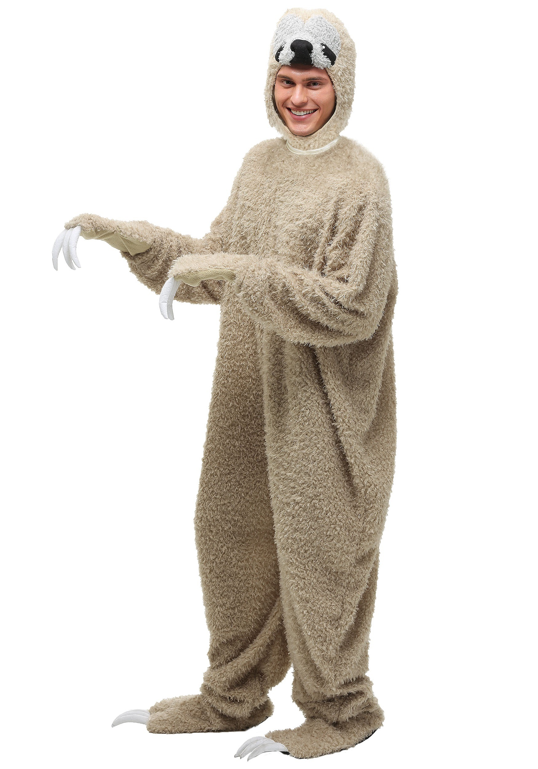 Outdoor halloween decorations for trees - Adult Sloth Costume