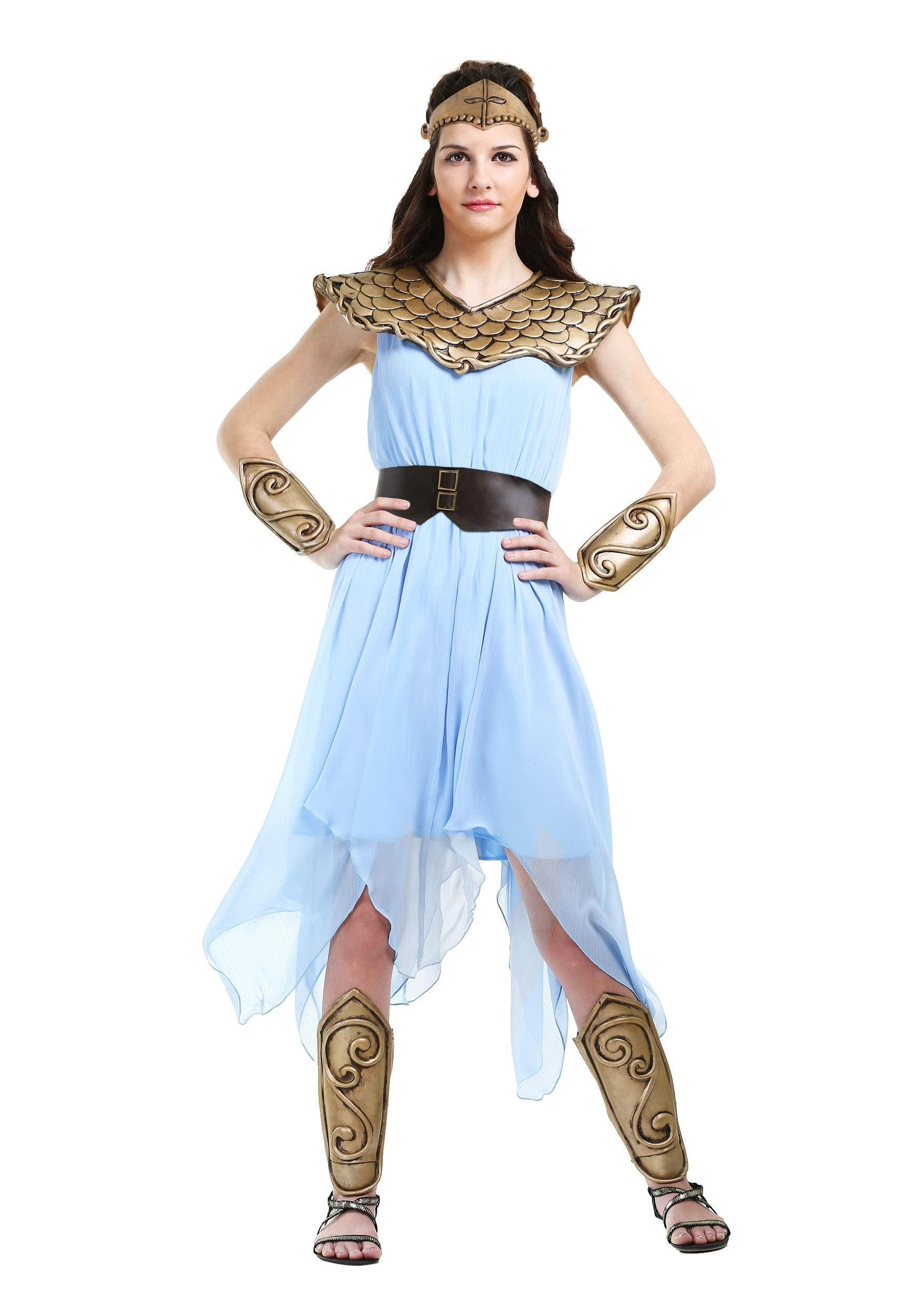 Roman warriors greek goddess costumes halloweencostumes womens plus size athena costume solutioingenieria Choice Image