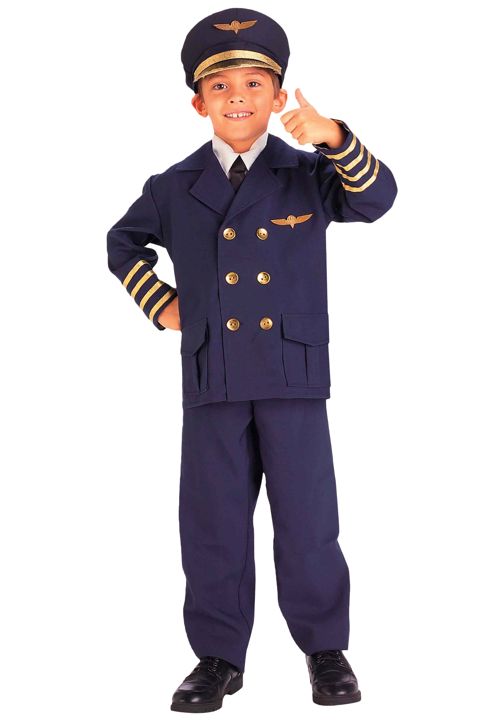 sc 1 st  Halloween Costumes & Child Airline Pilot Costume