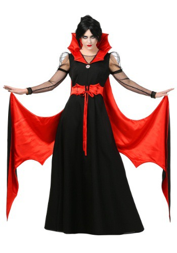 Click Here to buy Womens Batty Vampire Costume from HalloweenCostumes, USA Funds & Shipping