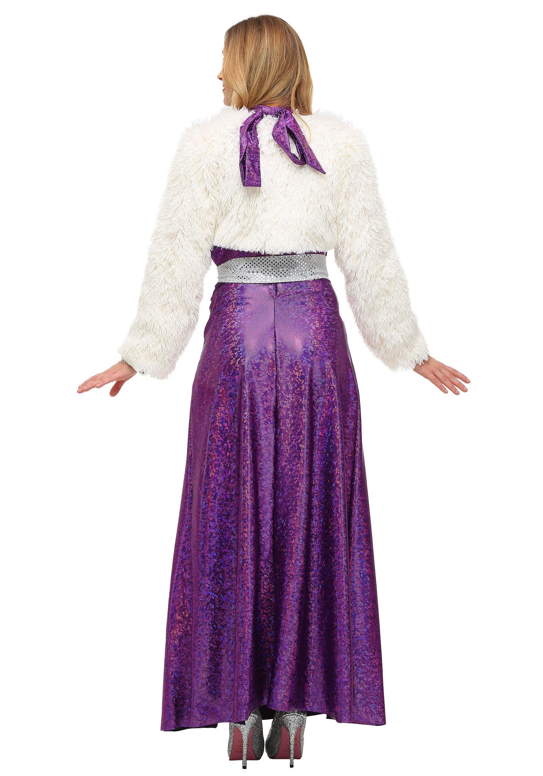 womens disco ball diva costume