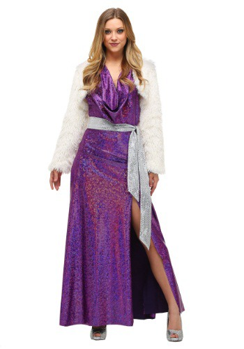 Click Here to buy Womens Plus Size Disco Ball Diva Costume from HalloweenCostumes, USA Funds & Shipping