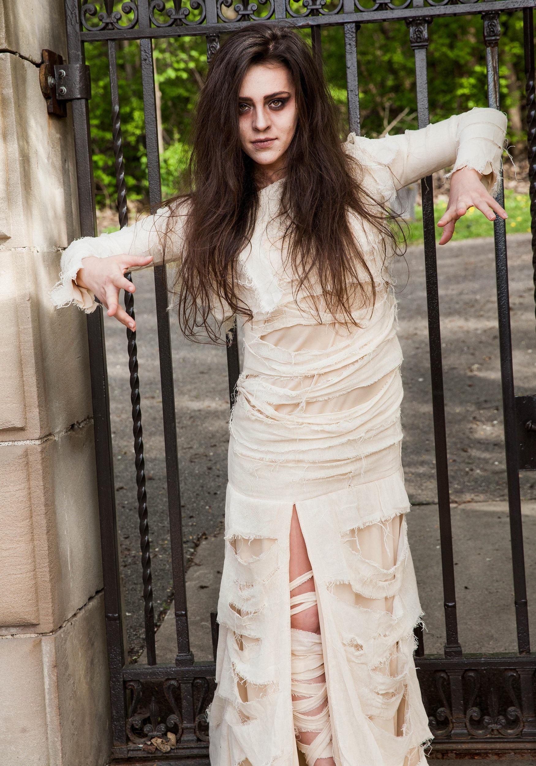 sc 1 st  Halloween Costumes & Womenu0027s Full Length Mummy Costume