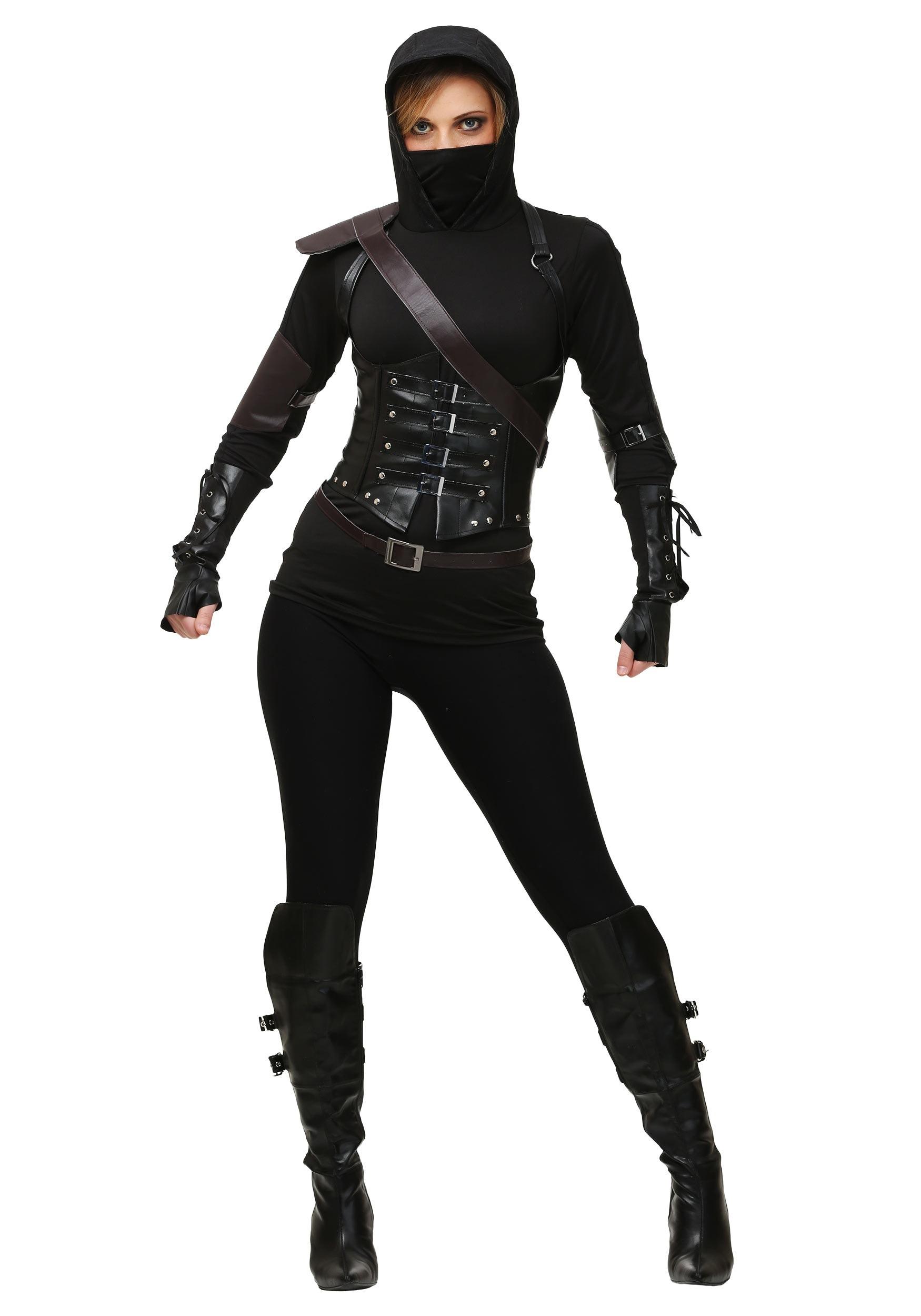 Women S Ninja Assassin Dark Costume