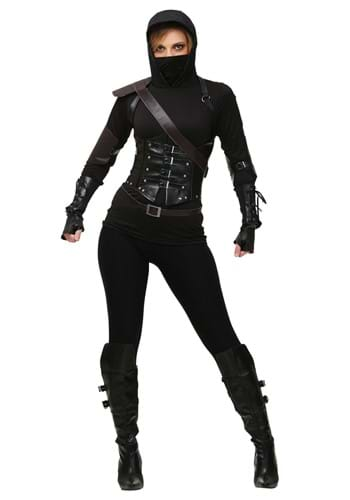 Click Here to buy Womens Ninja Assassin Costume from HalloweenCostumes, USA Funds & Shipping