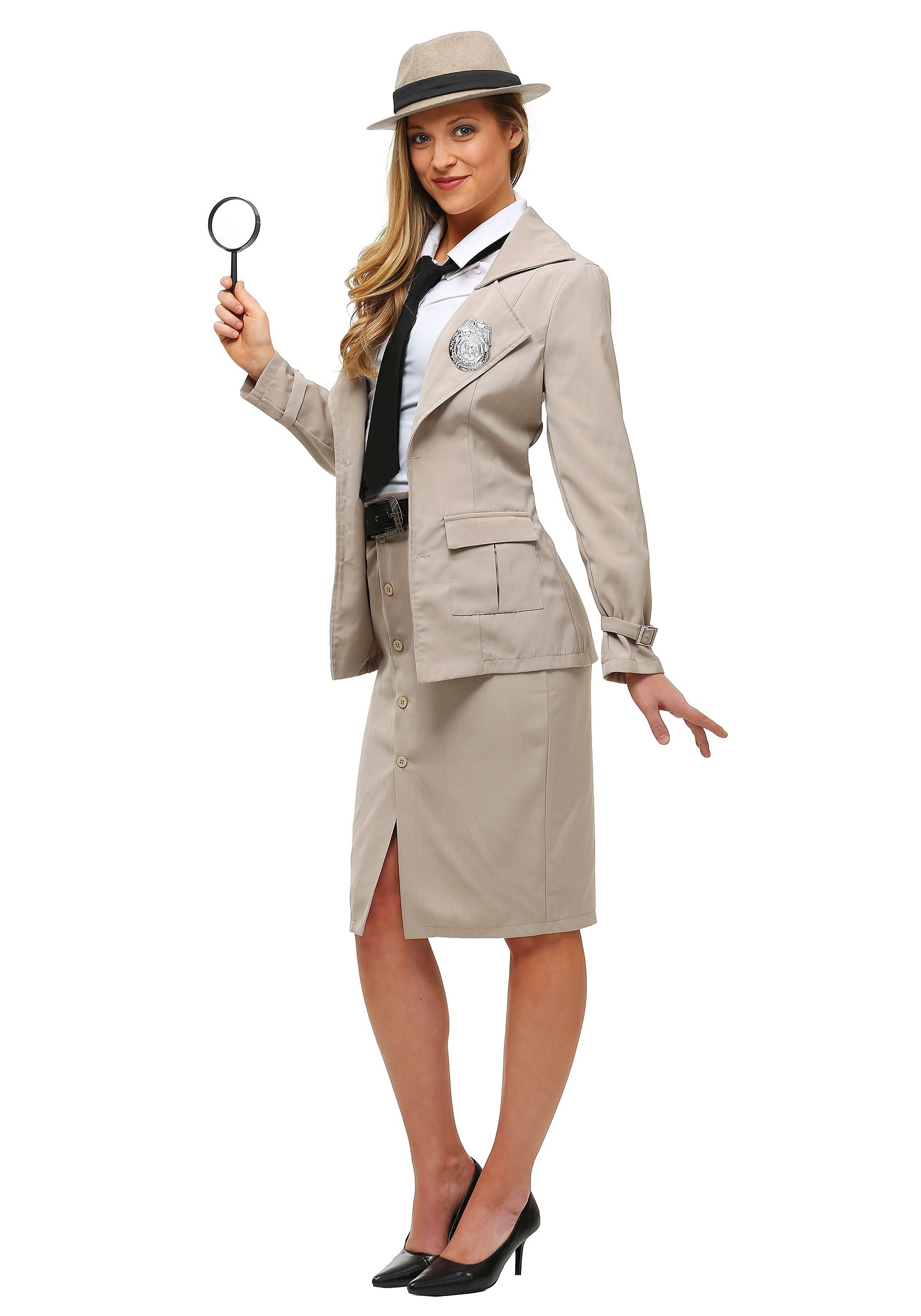 985f38147e97 Adult Miss Private Eye Plus Size Costume
