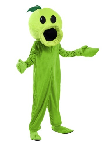 Click Here to buy Plants Vs Zombies Peashooter Kids Costume from HalloweenCostumes, USA Funds & Shipping
