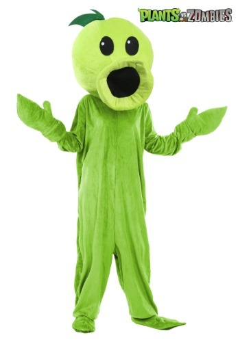 Adult Plants Vs Zombies Peashooter Costume1