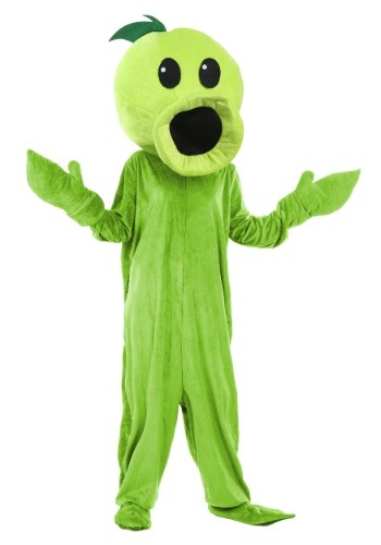 Click Here to buy Plants Vs Zombies Peashooter Costume for Adults from HalloweenCostumes, CDN Funds