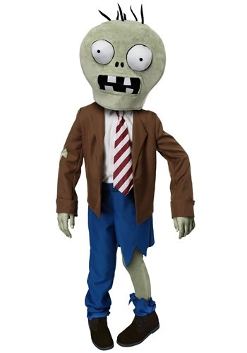 Click Here to buy Kids PLANTS VS ZOMBIES Zombie Costume from HalloweenCostumes, USA Funds & Shipping