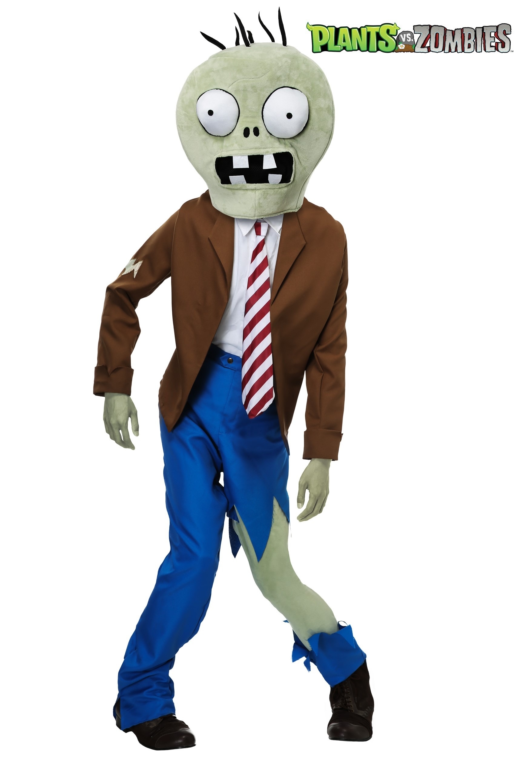 PLANTS VS ZOMBIES Zombie Adult Costume