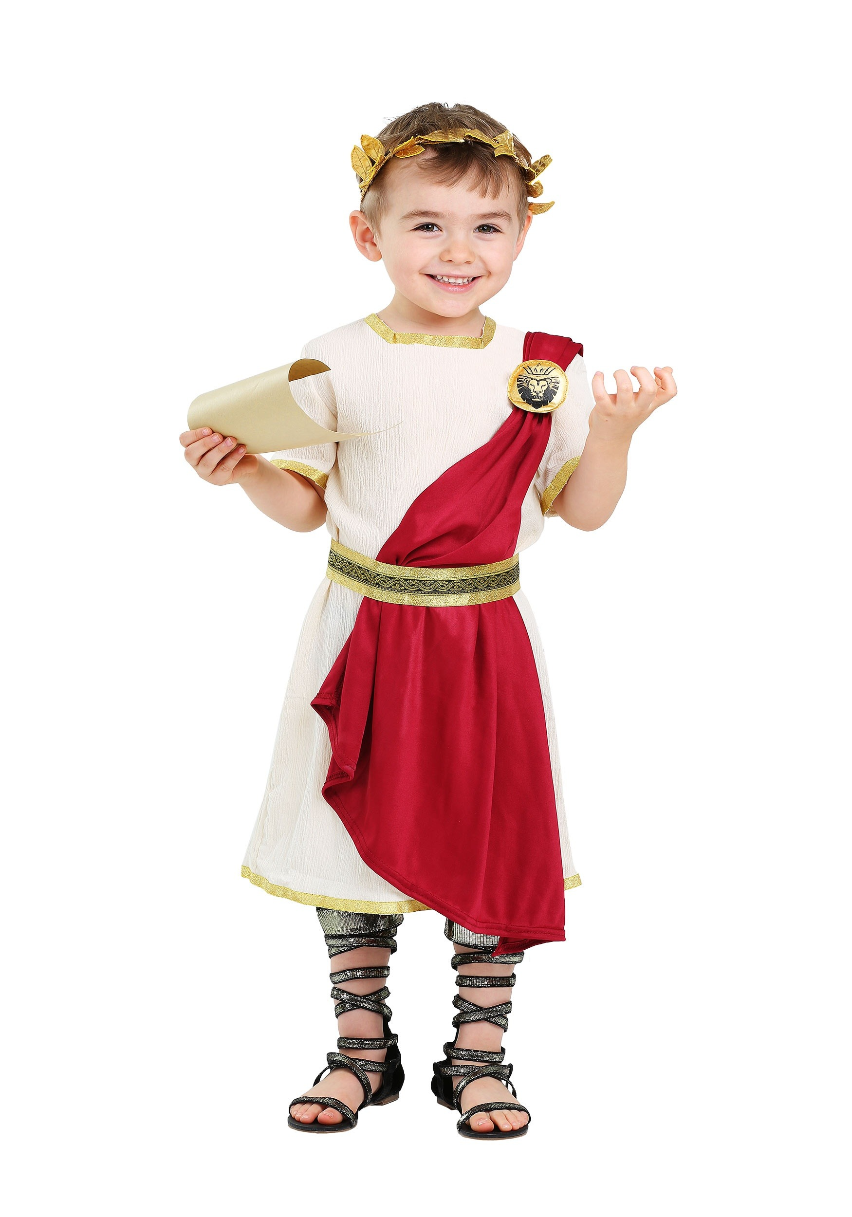 Toddler Roman Senator Costume  sc 1 st  Halloween Costumes & Roman Warriors u0026 Greek Goddess Costumes - HalloweenCostumes.com