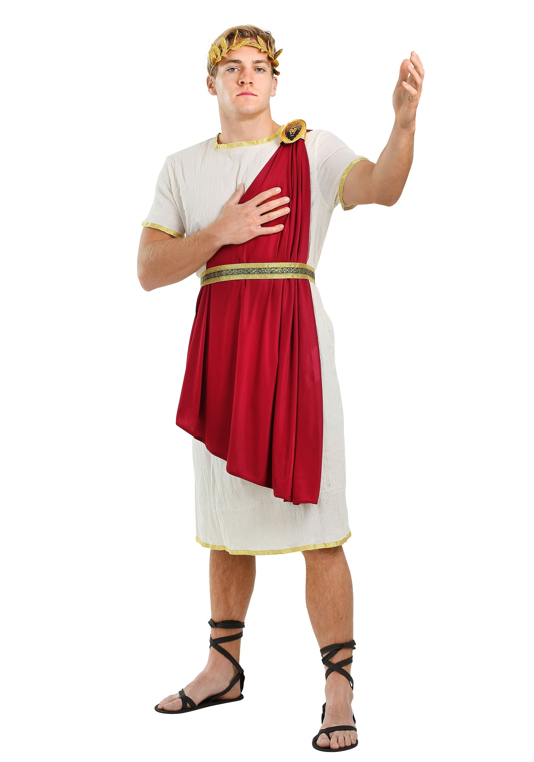 Roman Senator Mens Costume  sc 1 st  Halloween Costumes & Roman Warriors u0026 Greek Goddess Costumes - HalloweenCostumes.com