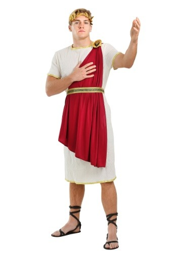 Roman Senator Plus Size Costume for Men 2X