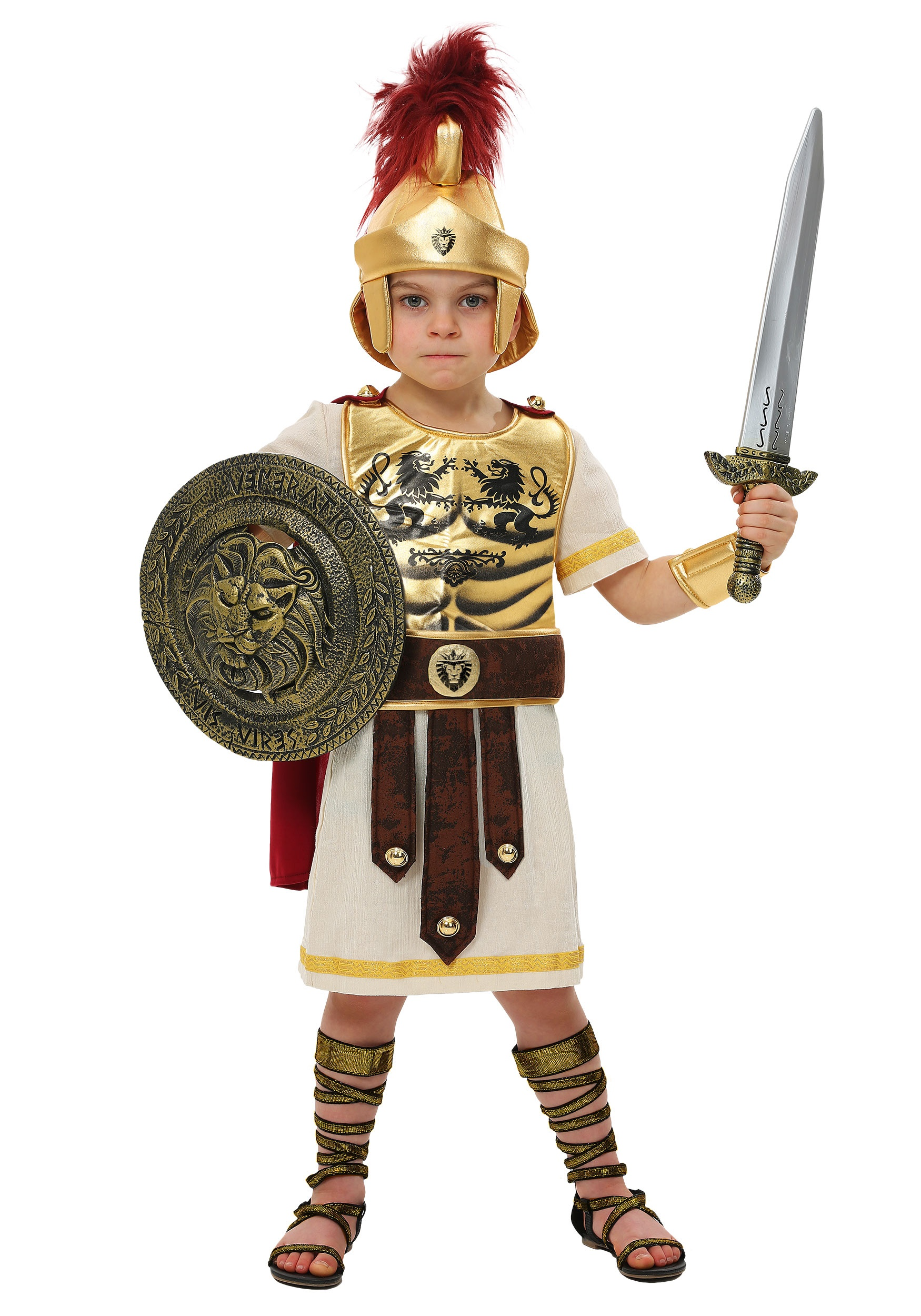 Brand New Glorious Gladiator Warrior Women Adult Costume