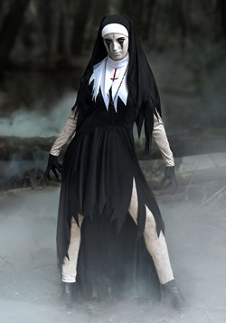 Womens Dreadful Nun Plus Size Costume ew