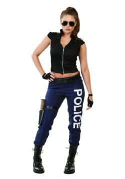 Women's Tactical Police Costume