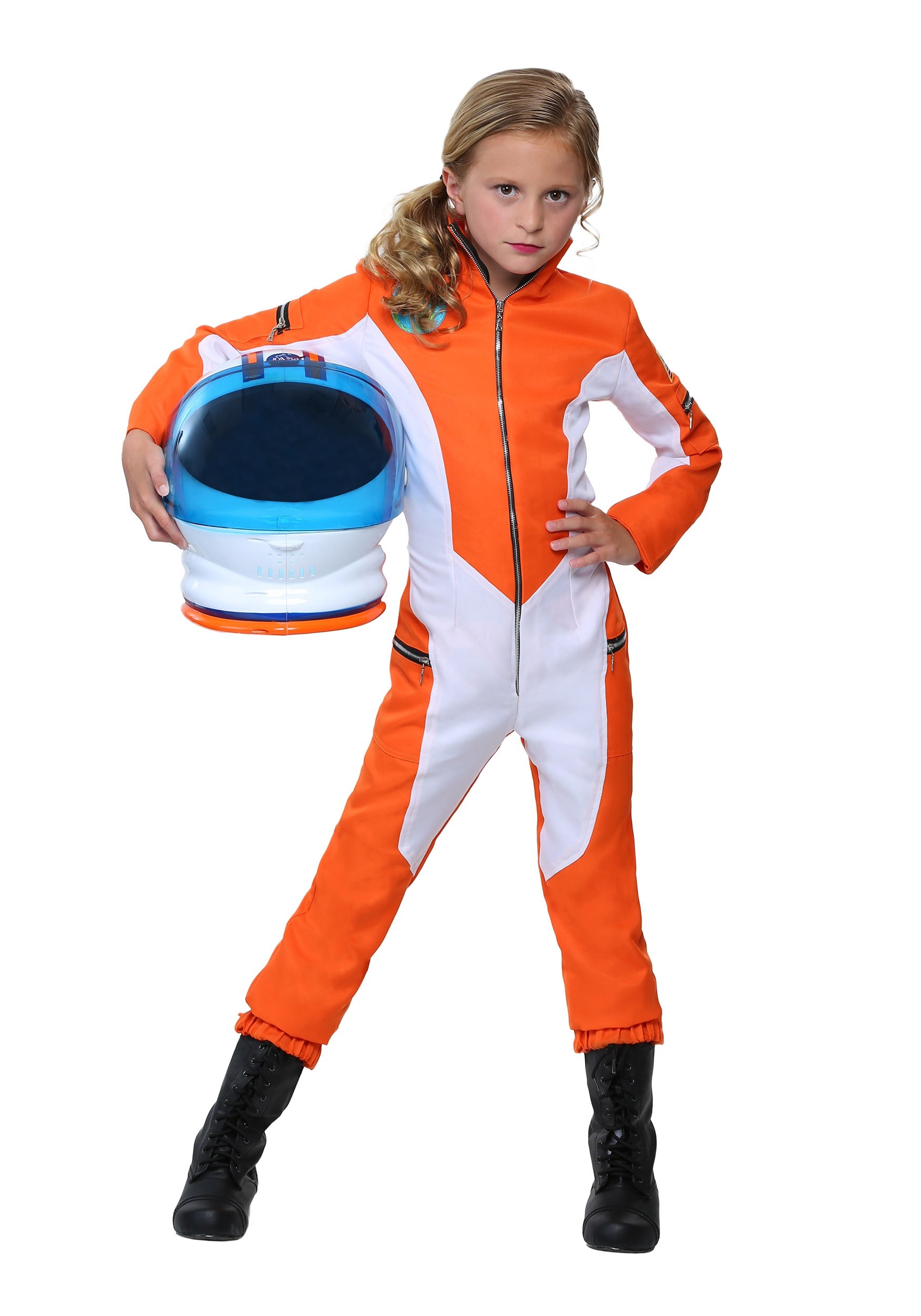 Astronaut space bootcovers for kids are imported. Essential equipment! Soft-sided bootcovers have logos and patches; intended to be worn over shoes (and note they're sized to coordinate with the costume for easy ordering).