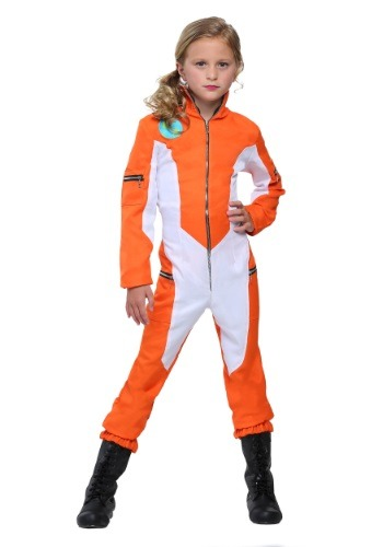 Kids Astronaut Jumpsuit Costume