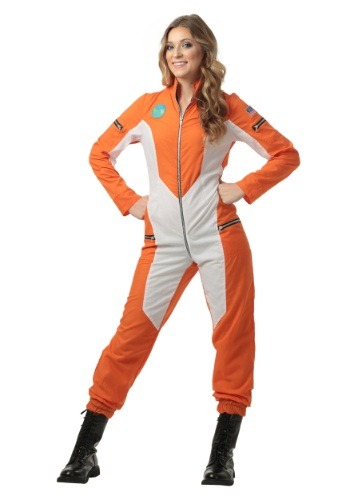 Click Here to buy Astronaut Jumpsuit for Womens from HalloweenCostumes, USA Funds & Shipping