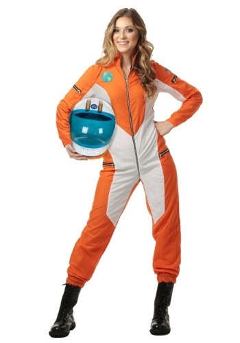 Plus Size Women's Astronaut Jumpsuit