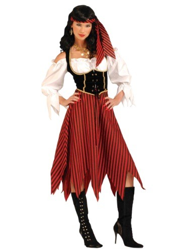 Click Here to buy Adult Pirate Maiden Costume from HalloweenCostumes, USA Funds & Shipping