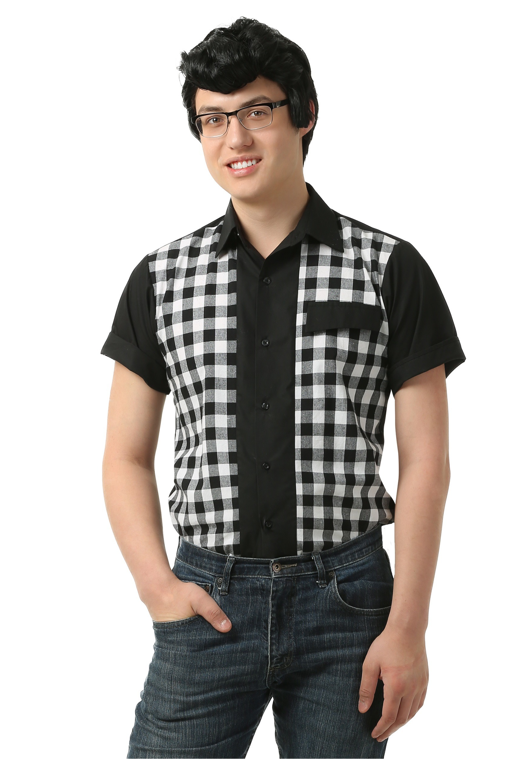 Men S Casual Inspiration 4: Men's 50s Bowler Shirt