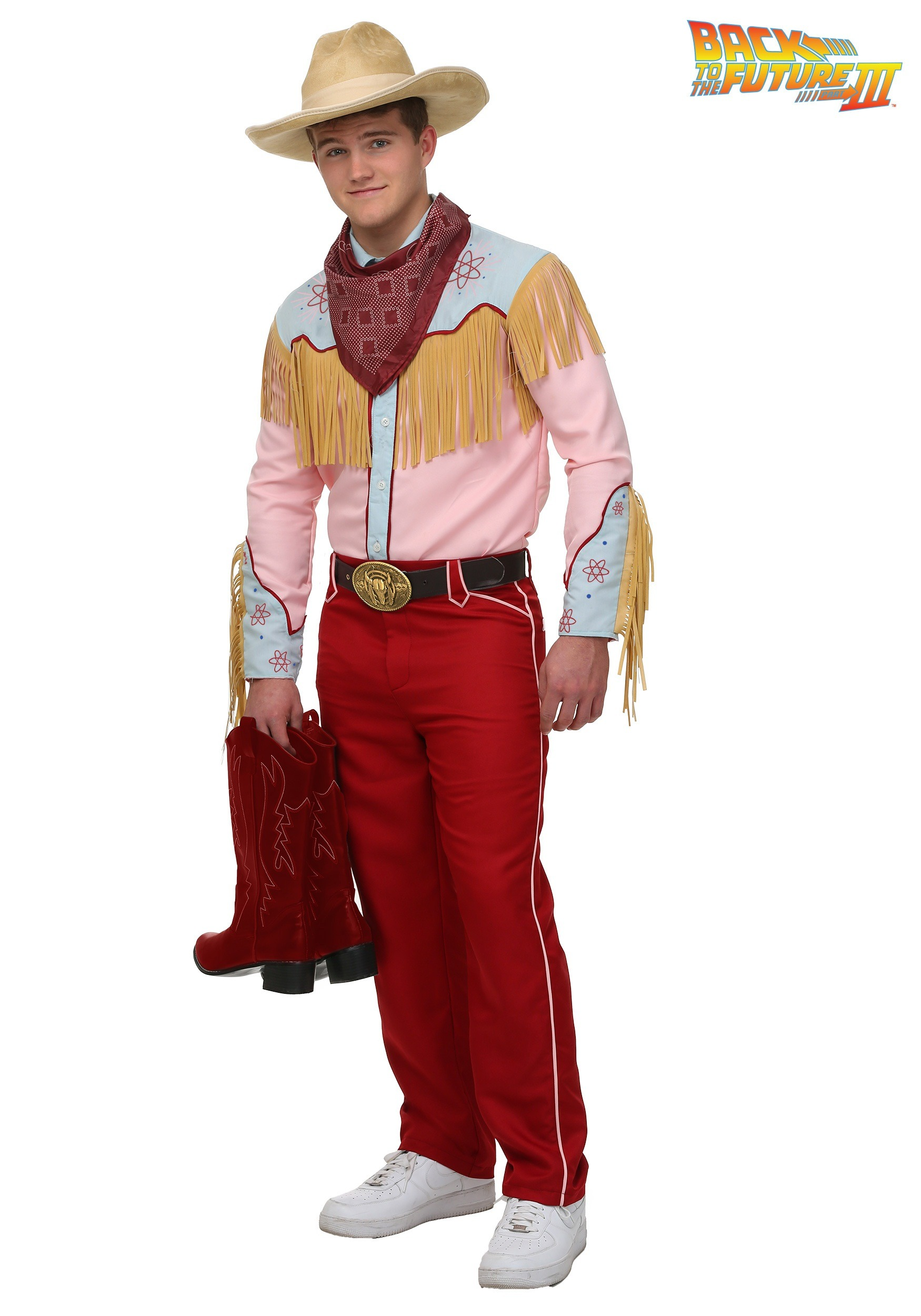 Back to the Future Cowboy Marty Costume  sc 1 st  Halloween Costumes & Western Cowboy u0026 Cowgirl Costumes - HalloweenCostumes.com
