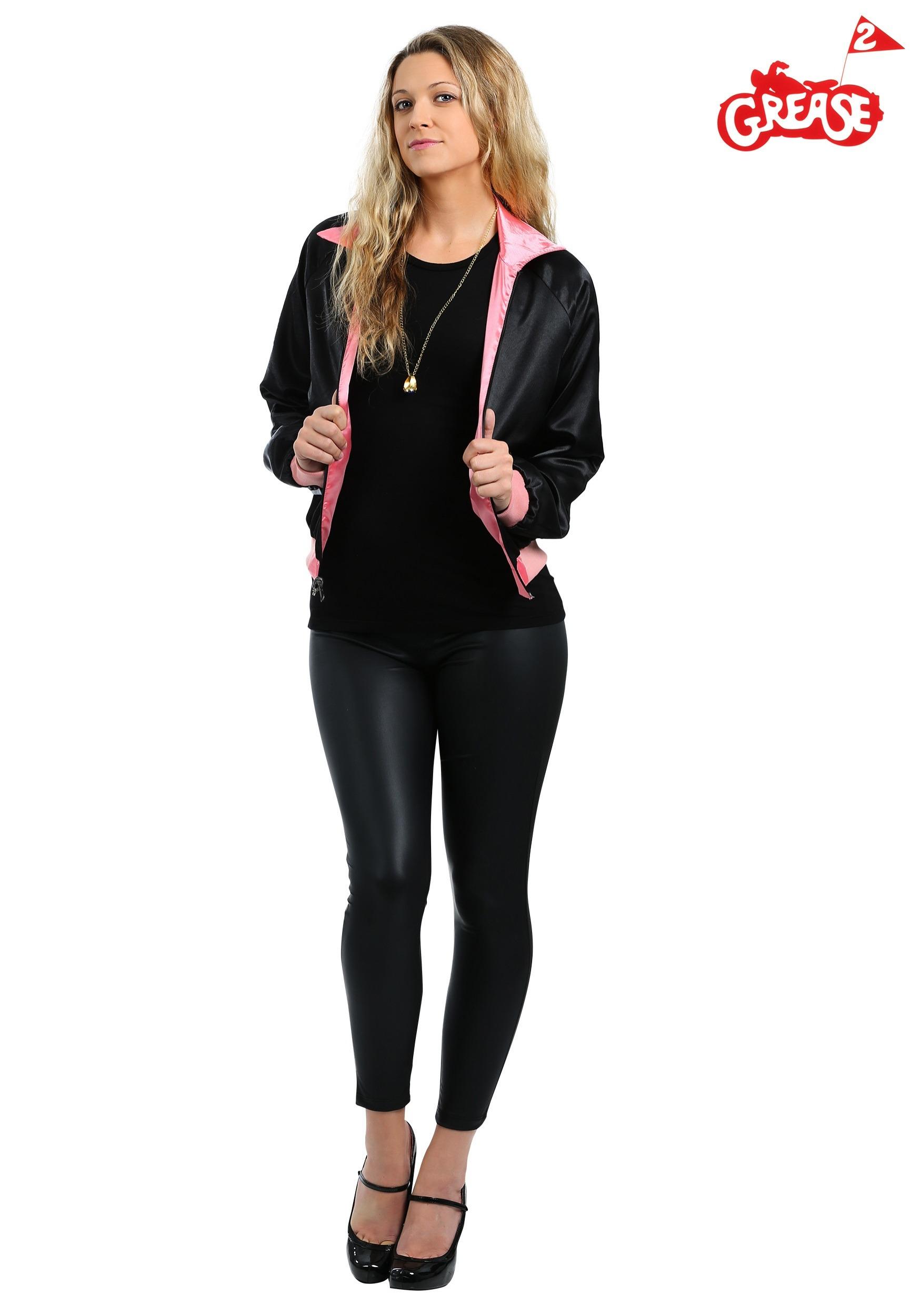 Stephanie S Pink Ladies Jacket