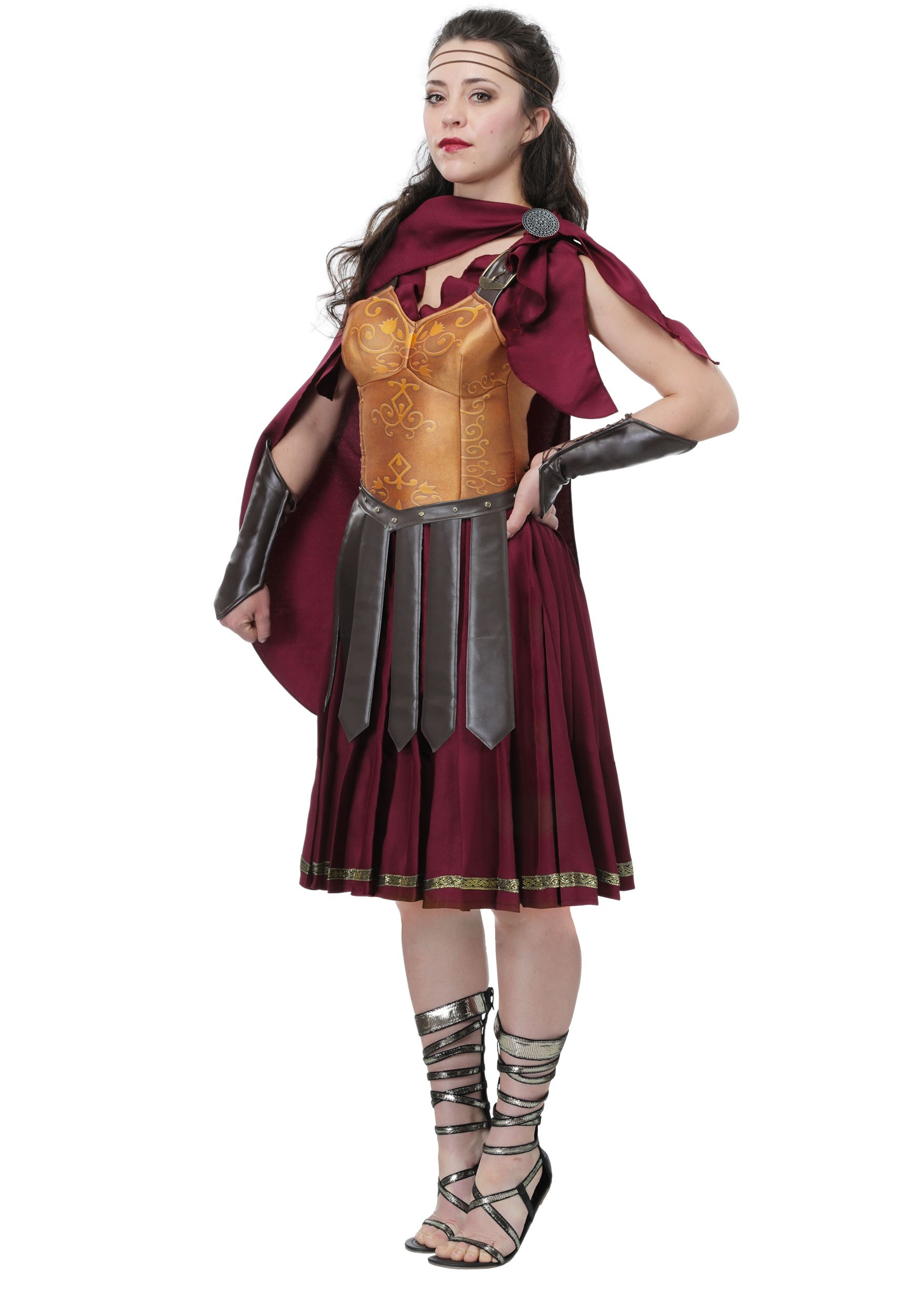 Roman warriors greek goddess costumes halloweencostumes gladiator womens costume solutioingenieria Image collections