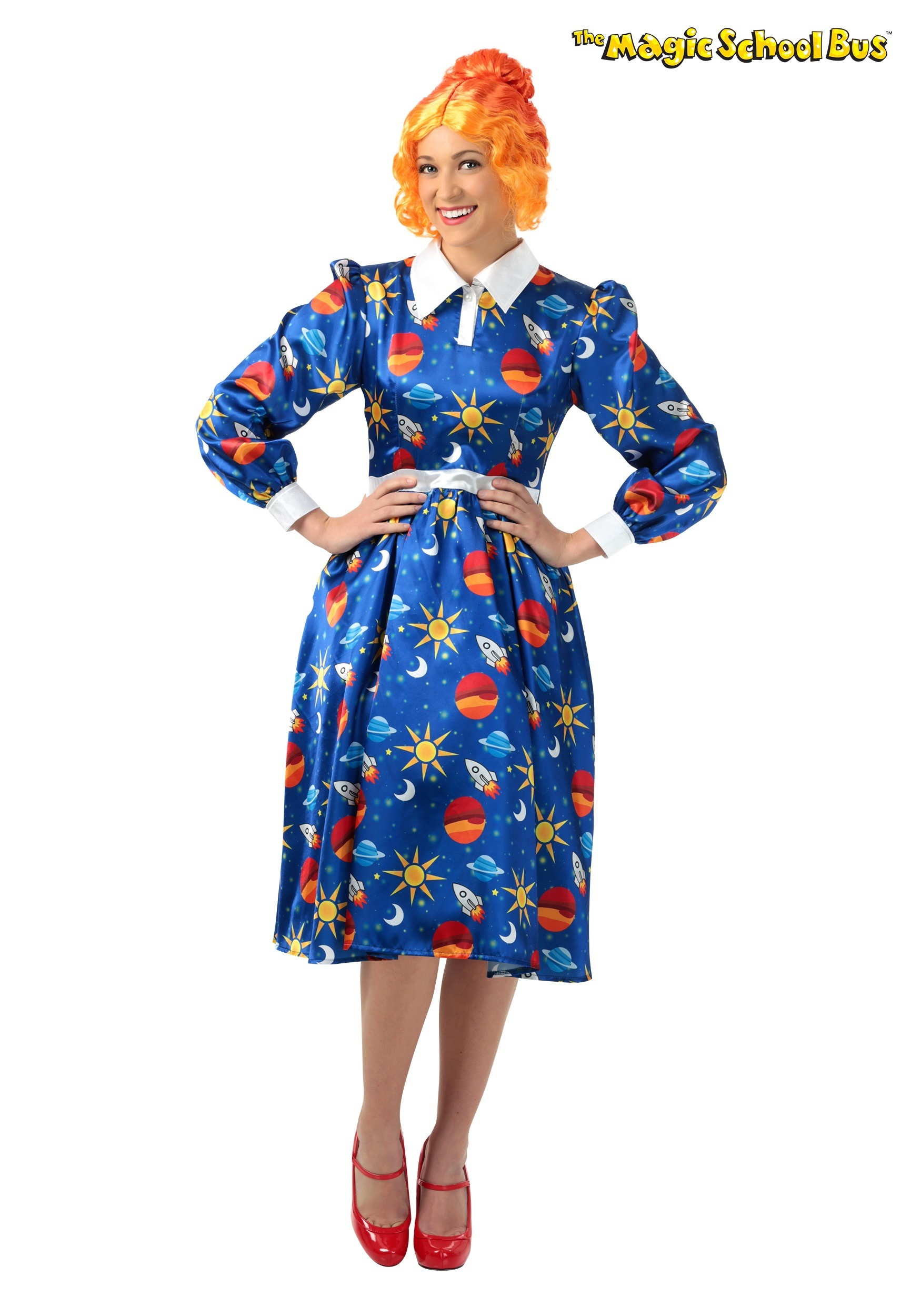 The Magic School Bus Miss Frizzle Plus Size Costume 1X 2X 3X-6540