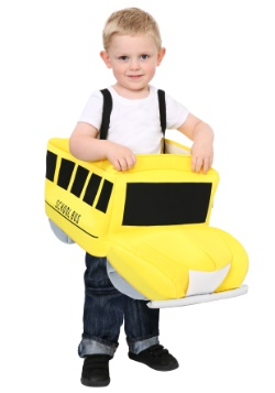 Ride In School Bus Toddler Costume