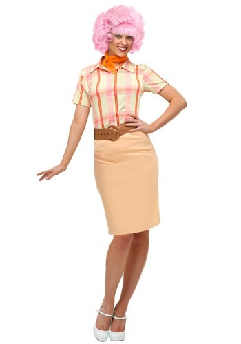 Click Here to buy Grease Frenchy Plus Size Adult Costume from HalloweenCostumes, CDN Funds