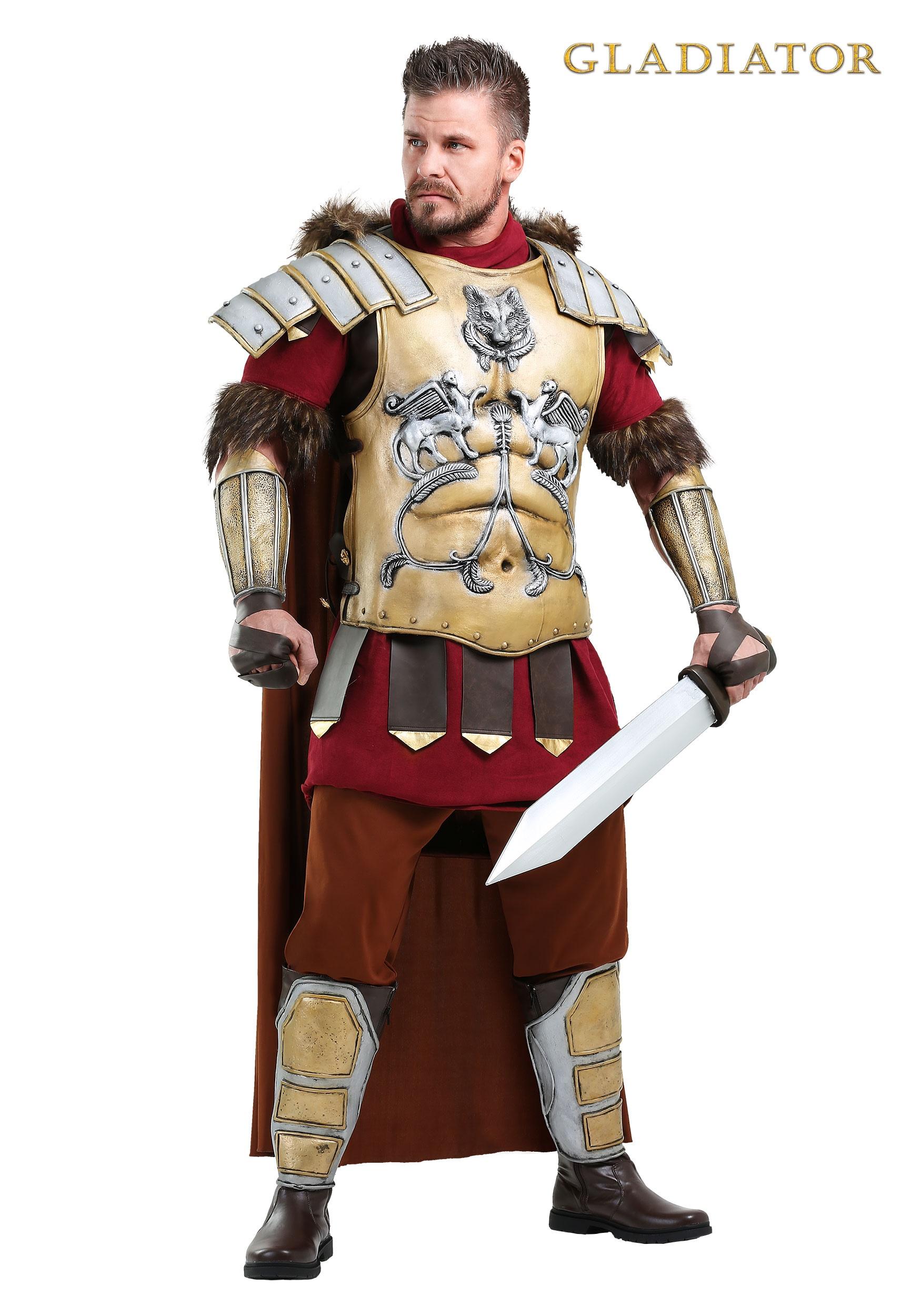 Gladiator General Maximus Mens Costume  sc 1 st  Halloween Costumes & Gladiator General Maximus Costume for Men