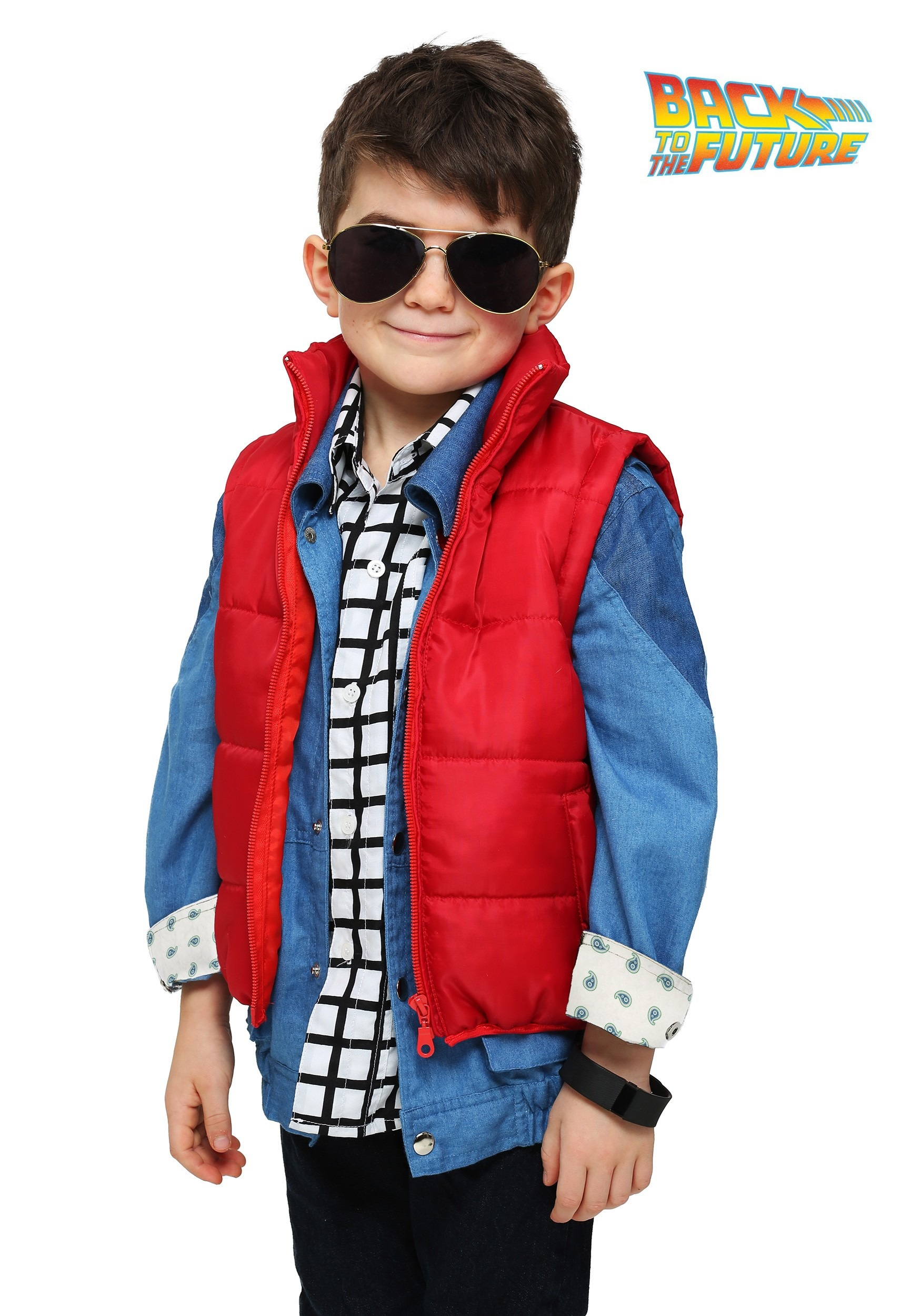 toddler marty mcfly vest