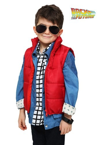 toddler marty mcfly vest costume