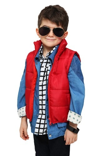 Click Here to buy Toddler Marty McFly Vest Costume from HalloweenCostumes, CDN Funds