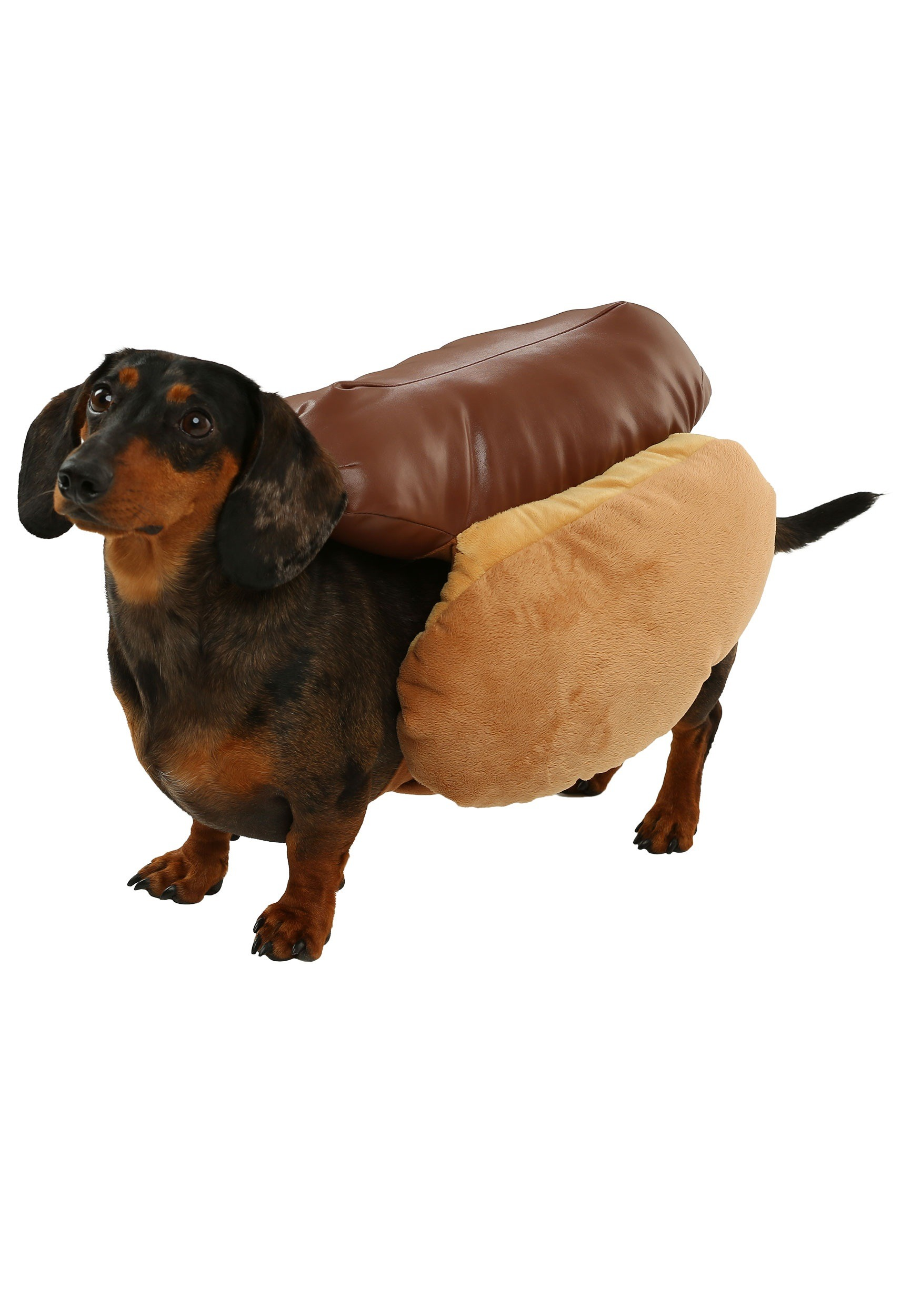 Hot Dog Costume For Big Dogs