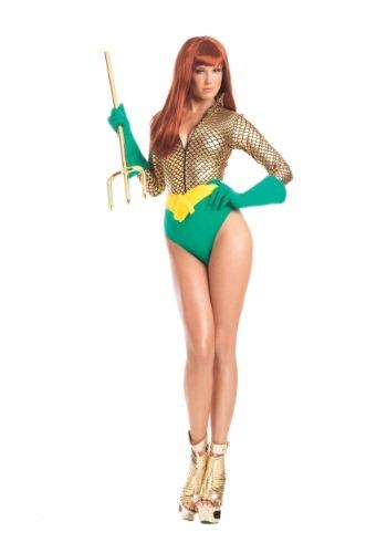 Alluring Aquagirl Costume