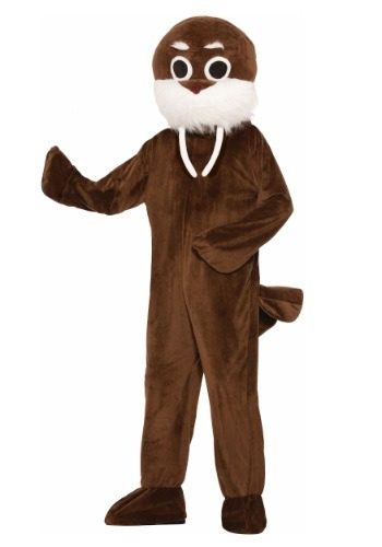 Image of Adult Brown Walrus Costume