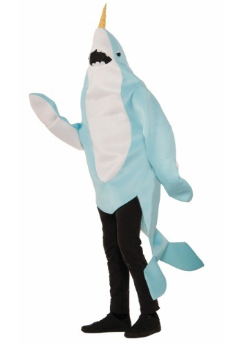 Click Here to buy Adult Narwhal Costume from HalloweenCostumes, USA Funds & Shipping