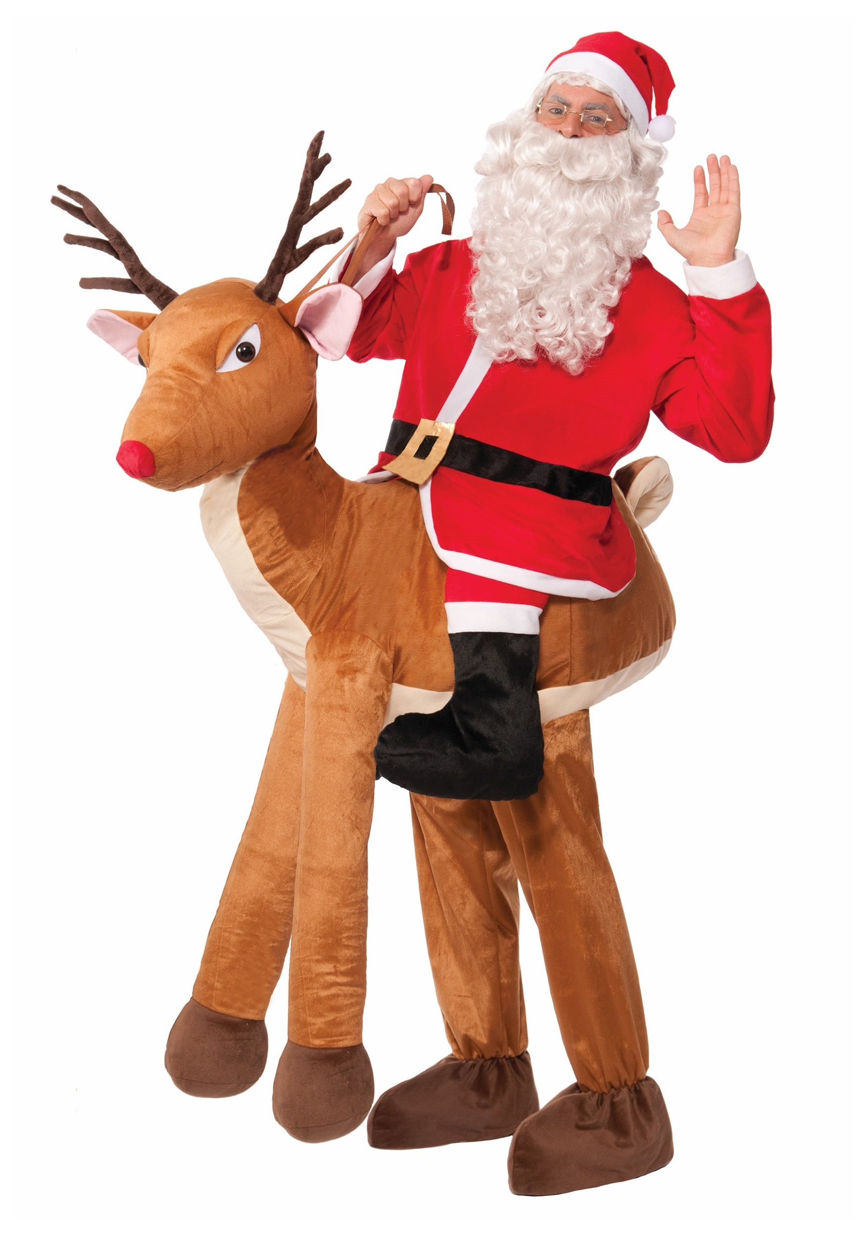 63a94336a7c Adult Ride a Reindeer Costume