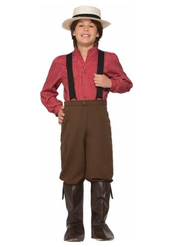 Pioneer Boy Costume for Kids