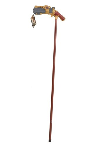 Click Here to buy Steampunk Pistol Grip Cane from HalloweenCostumes, CDN Funds